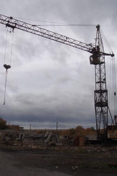 башенный кран КБ 403А