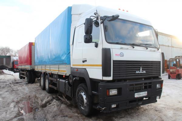 бортовая машина МАЗ 6312 14 тонн