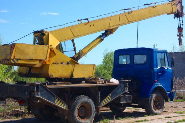Аренда автокрана 25 метров в Москве и Московской области
